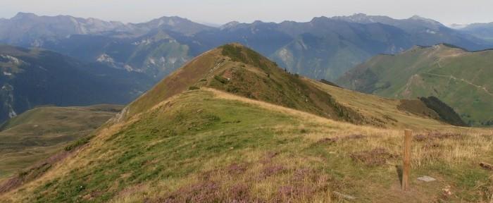 CRÊTE D'ANDREYT à 1798 mètres d'altitude par le col de Noulatte.