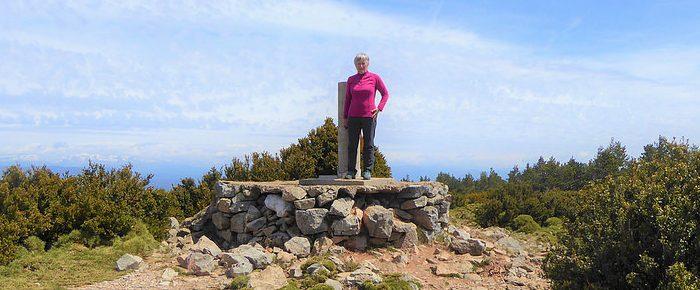 PUSILIBRO à 1597 mètres d'altitude dans le comarque de la Hoya de Huesca, en Aragon Espagne.
