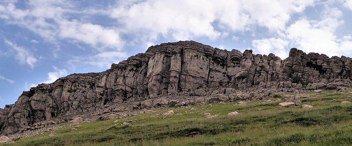 URKULU à 1419 mètres d'altitude, petit sommet à cheval sur la frontière franco-espagnole, en Pays Basque.