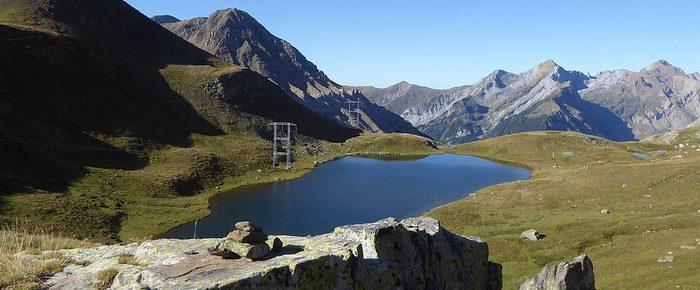 IBON DE LAPAZOSA à 2253 mètres d'altitude dans la vallée de Bujaruelo, en Aragon Espagne.