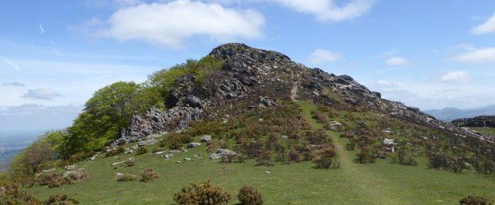 IBANTELI à 698 mètres d'altitude, depuis la Col de Lizarrieta en Navarre, au Pays Basque.
