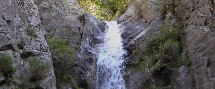 CASCADES DU SAINT VINCENT ET DES ANGLAIS à 980 mètres d'altitude, sur la commune de Vernet les Bains, Pyrénées-Orientales