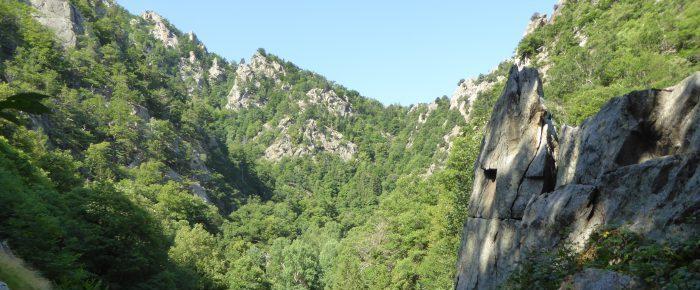 GORGES DE CADY à 1070 mètres d'altitude, sur la commune de Casteil, Pyrénées-Orientales.
