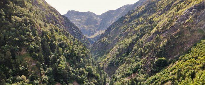 GORGES DE CLARABIDE à 1639 mètres d'altitude, dans la haute vallée du Louron, Hautes-Pyrénées