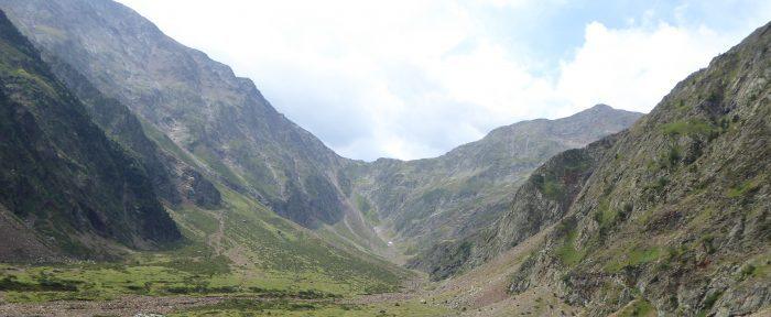 VALLÉE DE LA PEZ à 1550 mètres d'altitude, dans la haute vallée du Louron, Hautes-Pyrénées