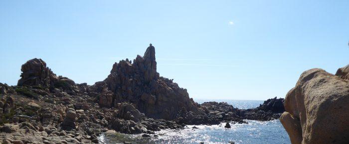 CAPU DI MURU à 151 mètres d'altitude, sur la commune de Coti-Chiavari, en Corse du Sud