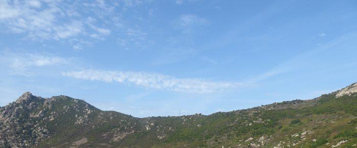 BOCCA DI L'ARINELLA à 598 mètres d'altitude au dessus de Casteluccio, sur la commune d'Ajaccio, Corse du Sud