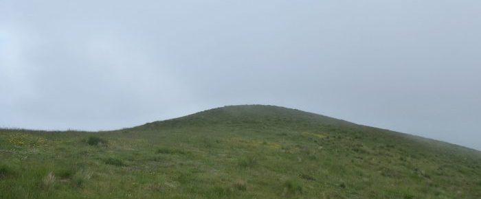 PIC DES ESCALIERS ou HARSUDURRA à 1472 mètres d'altitude depuis le Col de Bagargi à Iraty, sur la commune de Larrau au Pays-Basque
