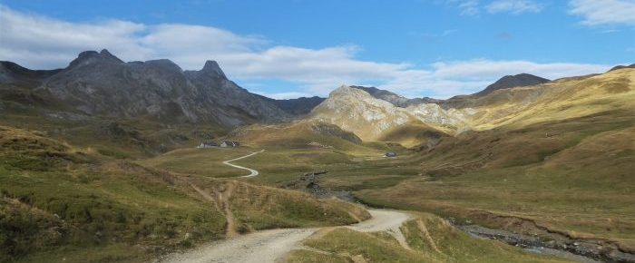 PLATEAU D'ANEOU à 1926 mètres d'altitude, en vallée d'Ossau, sur la commune de Laruns, Pyrénées-Atlantiques