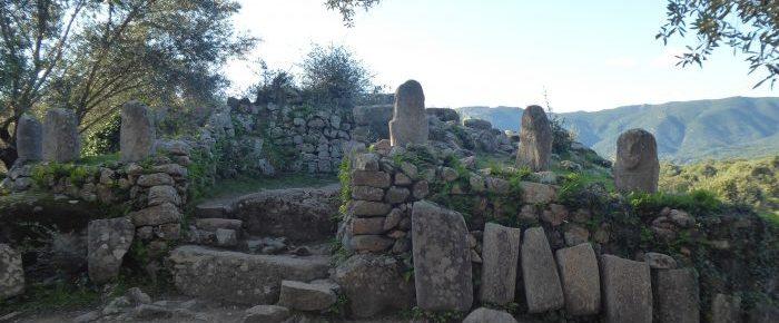 FILITOSA SITE PREHISTORIQUE dans la vallée du Taravo, sur la commune de Sollacaro en Corse du Sud
