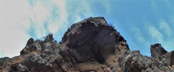FORTIN DE PASCIOLA à 773 mètres d'altitue, en centre Corse, sur la commune de Vivario, en Haute Corse