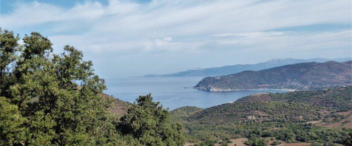 SENTIER DE BOMBA à 231 mètres d'altitude, sur la commune de Villanova en Corse du Sud
