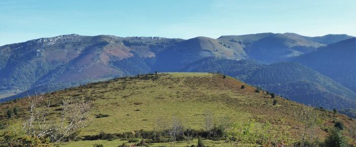 TOUR DU TUCO à 1356 mètres d'altitude, dans le massif de l'Arbizon, sur la commune de Campan, Hautes-Pyrénées