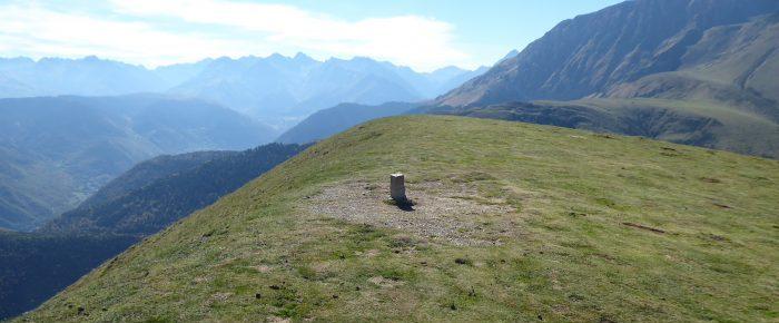 PLO DEL NAOU à 1748 mères d'altitude, à cheval sur les vallées de Campan et d'Aure, sur la commune de Campan, Hautes-Pyrénées